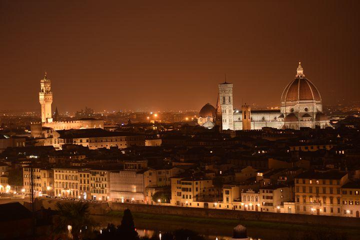 Florence At Night - Alexandra Obar