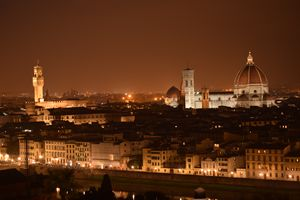 Florence At Night