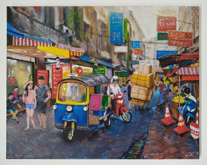 Streets of Bangkok - kalinina