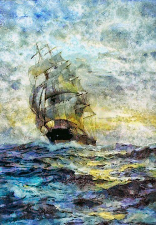 Steady Sails - Struss PRINTS