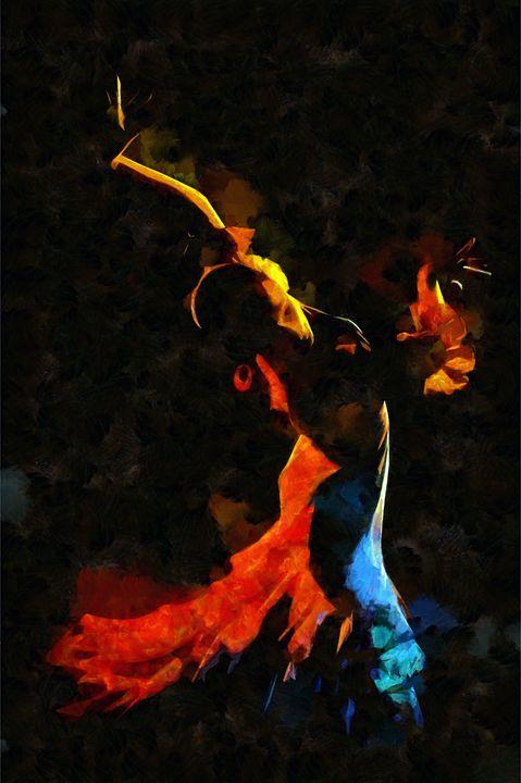 Flamenco Dancer - Karl J. Struss