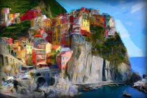 Manarola Cinque Terre, Italy - Karl J. Struss