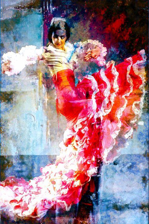 Bailarín de España - Karl J. Struss
