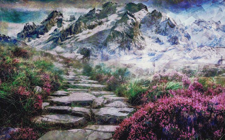 Mountian Pass - Struss PRINTS