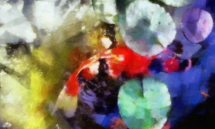 Koi Pond 2 - Karl J. Struss