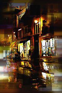 City Scene at night - Karl J. Struss