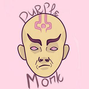 Purple Monk (with inscription)