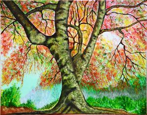 AUTUMN TREE - MAMMAR