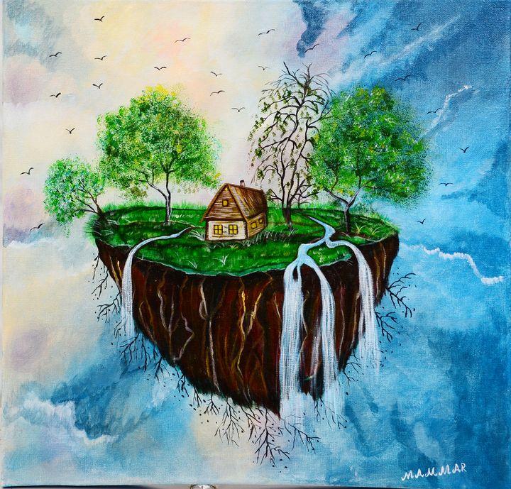 waterfall island - MAMMAR