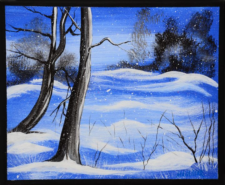 BLUE WINTER DAY - MAMMAR