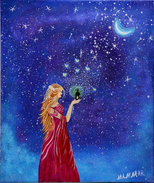 A Girl in a Moonlight - MAMMAR