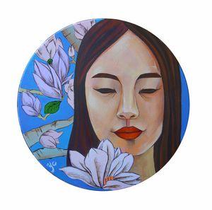 Mengdi's portrait