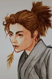 Watercolour Ronin
