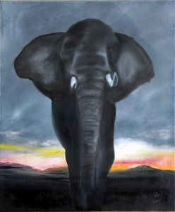 Crowned Elephant