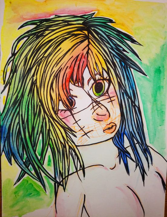 Rainbow Punk - Melodys Arts