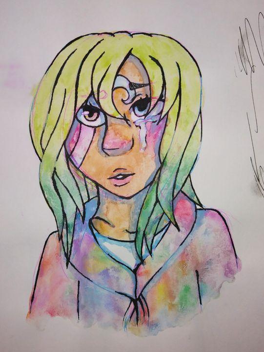 Sad Sister - Melodys Arts