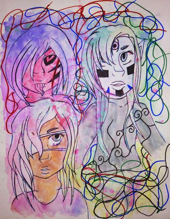 Mixed Feelings - Melodys Arts