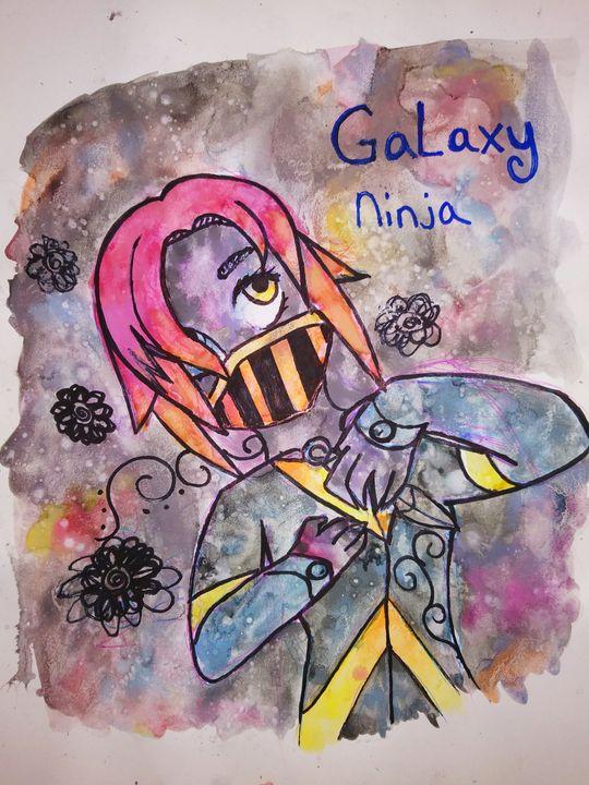Galaxy Ninja - Melodys Arts