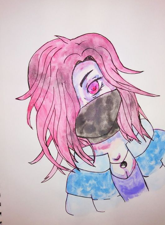 Masked Anime - Melodys Arts