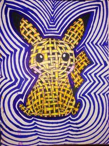 Straw Pikachu