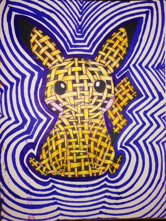 Straw Pikachu - Melodys Arts