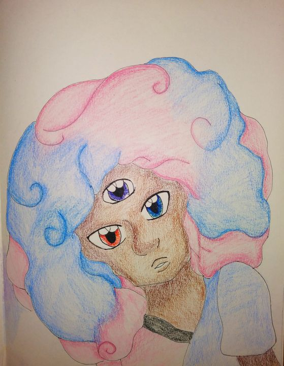 Cotton Candy Garnet - Melodys Arts