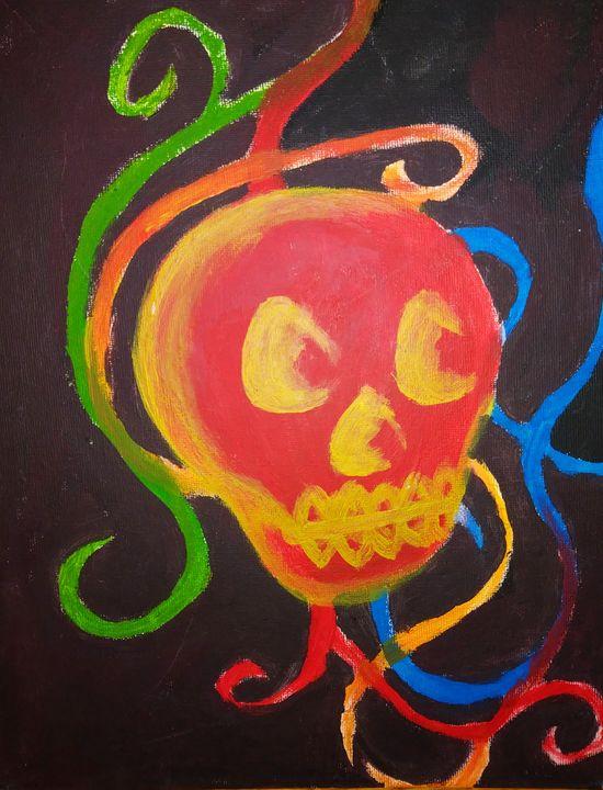 Red Skull - Melodys Arts