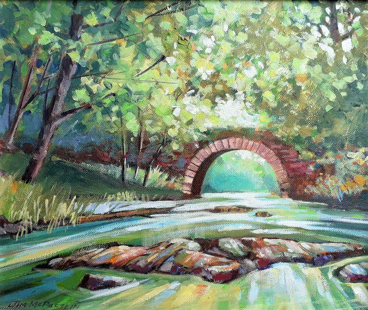 The Old Stone Bridge - Jim Mc Partlin Art