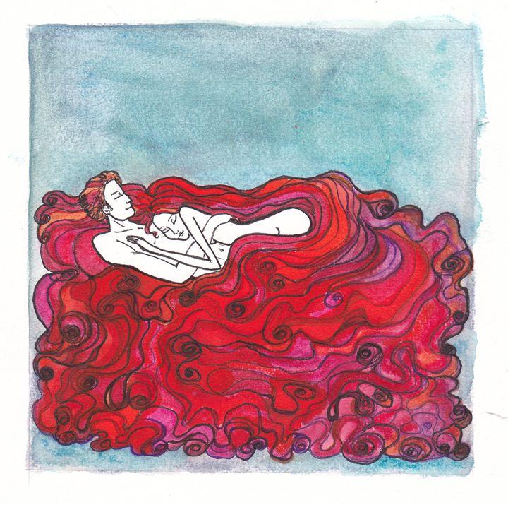 Lovers Sleeping - Volchitza FRANZ