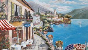 Cafe at Lake Como