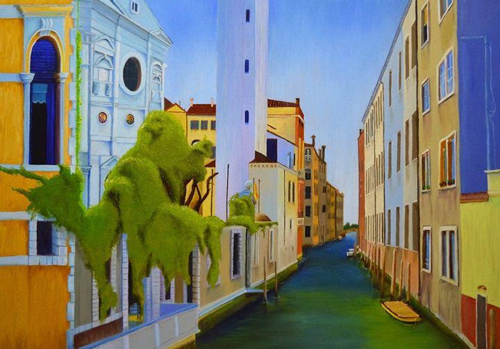 VENICE, ITALY - Louise Webber