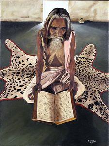 HINDU READING BHAGAVAD-GITA