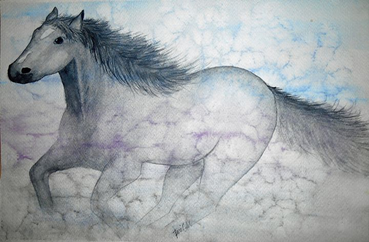 Ghost Horse - Teri Wenger