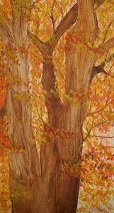 Deciduous Tree in Fall