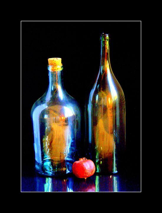 Still Life with a Pomegranate - Sergey Alekseev