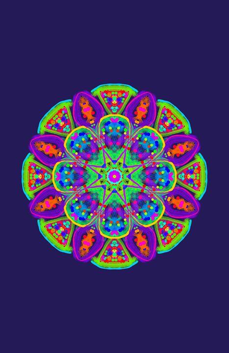 Meditation - Neon Dragon