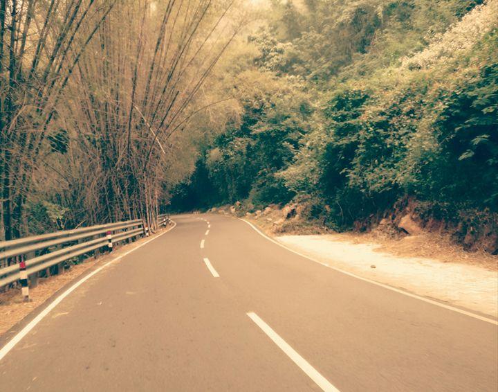 Down hill - vinci chan