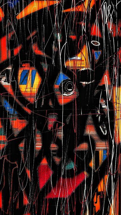 Abstract Portrait - Andrei Matalin