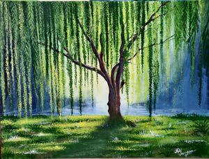 Beautiful handmade acrylic painting - Creative_paintings