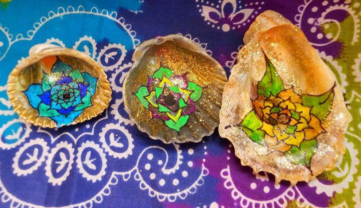 Mandala Shells - Manoah Nova-Third Eye Creations