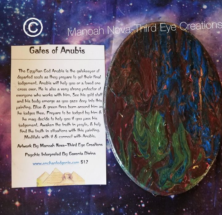 Gates of Anubis - Manoah Nova-Third Eye Creations