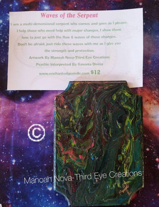Waves of the Serpent - Manoah Nova-Third Eye Creations