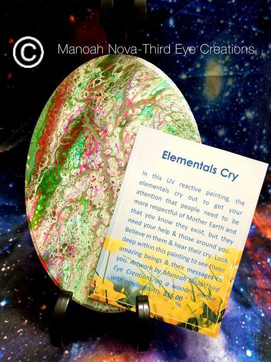 Elemental's Cry - Manoah Nova-Third Eye Creations