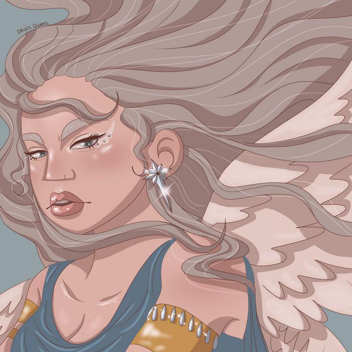 Angel - Druzy Quartz