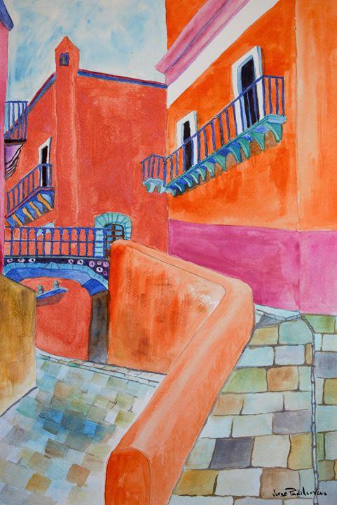 El callejon del campanero - Jorge Padilla Gallardo