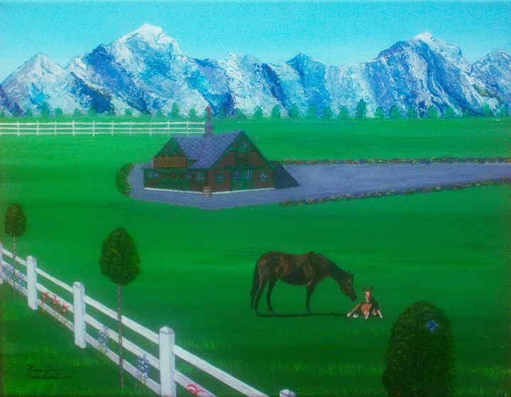Blue Mountain Stables - Mary Lou Constantine