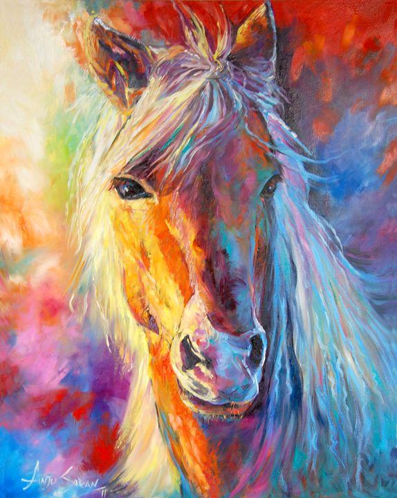 A Stallion - Anju Saran Arts