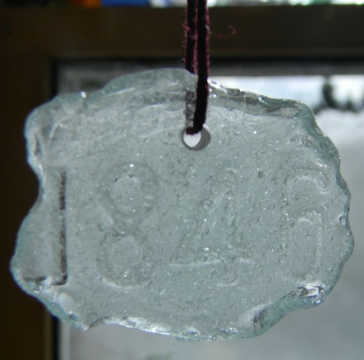 Sea Glass Pendant #13 - Seaside Treasures