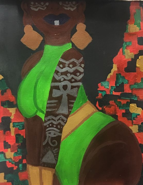 "Wakanda inspired ""Empress"" - Devinetrinity"