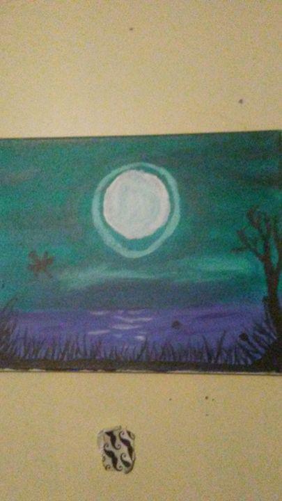 Moody swamp - Miles's Art Exhibit